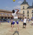 Voley-Playa en Lerma