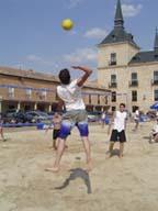 Voley-Playa en Lerma