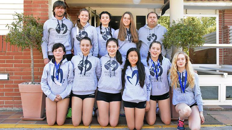 Maristas Burgos UBU realiza un excelente campeonato