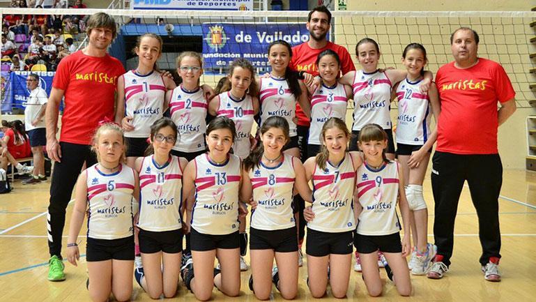 Primera jornada positiva para las burgalesas en el Campeonato de España Alevin