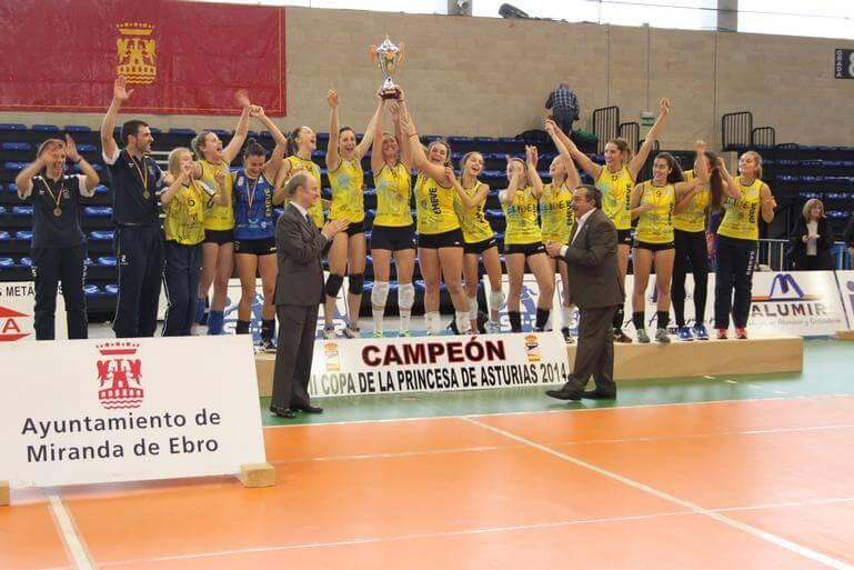 Emevé Élide, campeón de la Copa Princesa 2014