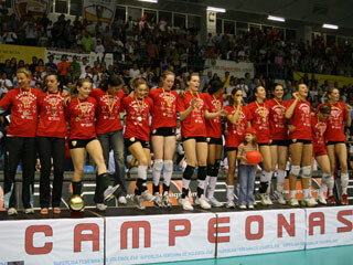 Final Superliga Femenina Voleibol