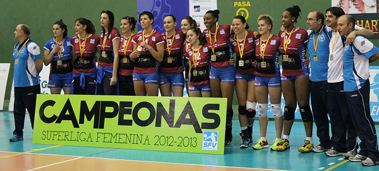 Haro Rioja Vòley, campeón de la Superliga Femenina