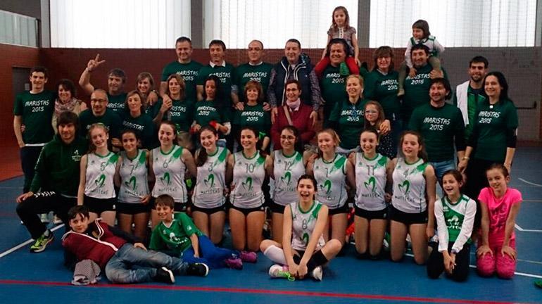 Liceo Castilla Maristas campeón de Castilla y León