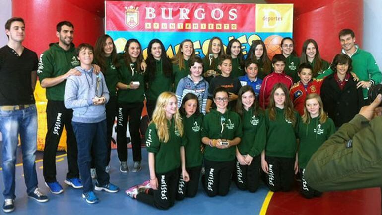 Liceo Castilla gran triunfador de los Juegos Escolares Municipales