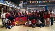 Maristas novenas del campeonato de España femenino alevin