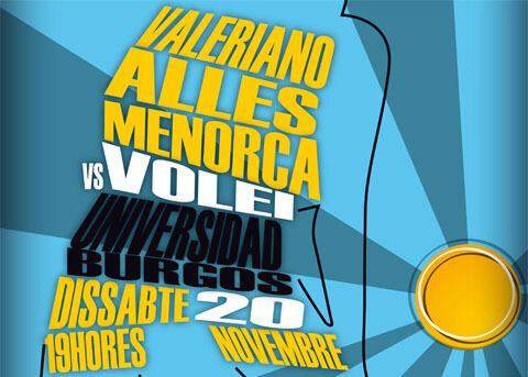 Primero contra segundo, sábado 19h en Menorca