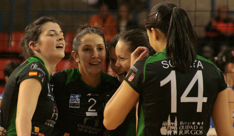 Cuatro jugadoras del UBU destacadas en la jornada
