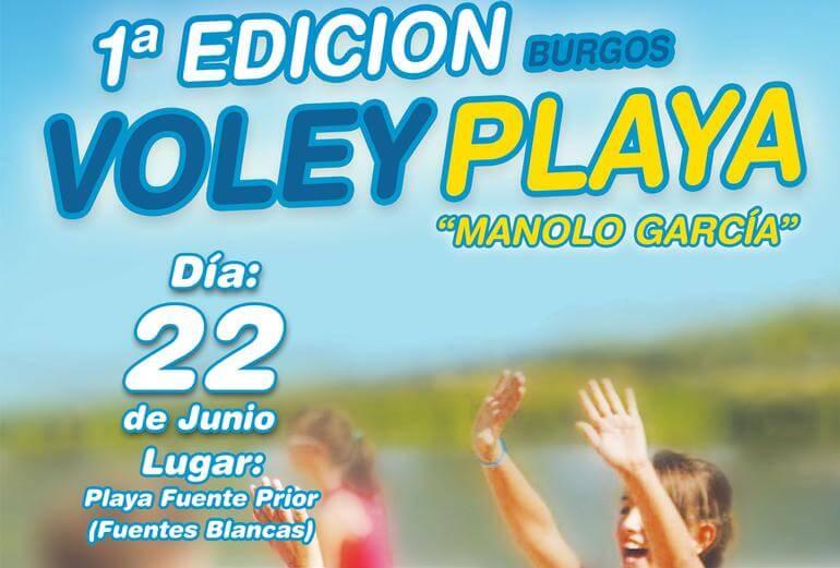 I Torneo Voley Playa 'Manolo García' el próximo 22 de Junio