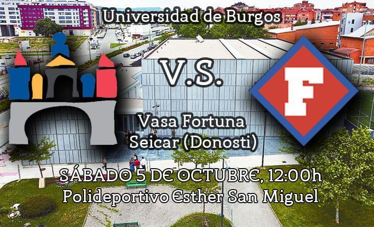 Amistoso en Burgos de la UBU femenino