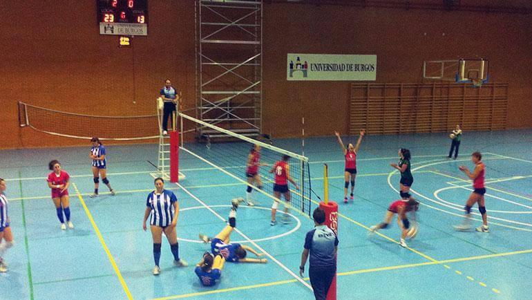 Victoria de la UBU en Primera División